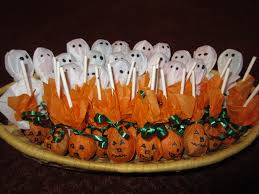 Fun Halloween Appetizer Recipes by Fun Halloween Treats From Tootsie Pops Candy Gram Ideas