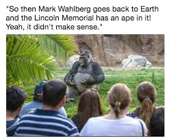 Planet Of The Apes Meme - planet of the apes ted talk gorilla know your meme
