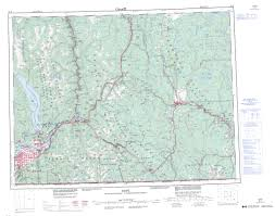 printable topographic map of 092h bc