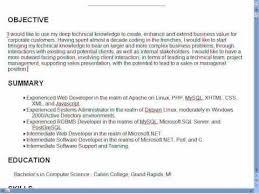 Good Resume Objectives 9 Sles 18 Writing Objective On - good resume objectives great resume objective statements exles