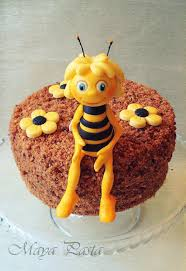 maya bee cake topper perfect honey cake