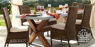 Patio Umbrella Table And Chairs Outdoor U0026 Patio Furniture Pottery Barn