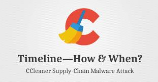 ccleaner malware version ccleaner attack timeline here s how hackers infected 2 3 million pcs