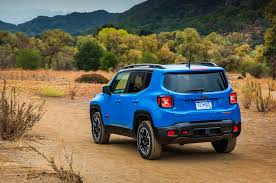 jeep renegade blue jeep announces pricing for 2015 renegade