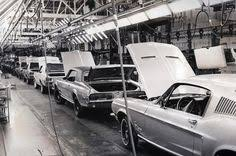 ford mustang assembly plant tour dearborn ford mustang assembly plant tour 1964 assembly line
