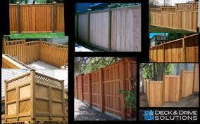 lawn u0026 garden wood fences of wood privacy fence designs modern