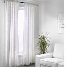 Ikea Gray Curtains Ikea Flong White Gray Geometric Curtains Drapes 57 X 98