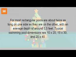 what is the average size of a pool table what is the size of a standard swimming pool youtube