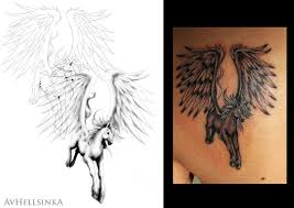 pegasus tattoo by anitramynnej on deviantart