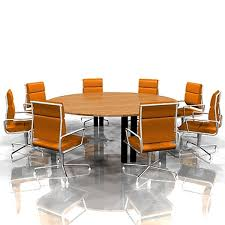 charming conference table and chairs with conference table 3d