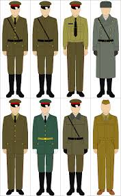 selection of cold war soviet uniforms by tounushi on deviantart