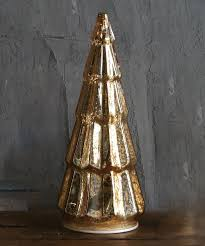 creative co op gold 14 5 glass led christmas tree zulily deck