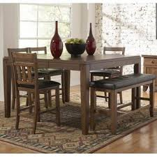 counter height dining table butterfly leaf homelegance kirtland butterfly leaf counter height dining table in oak