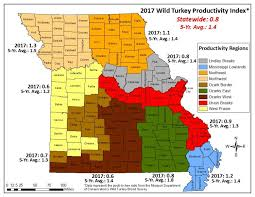 missouri breaks map fall turkey could be challenging this year missouri