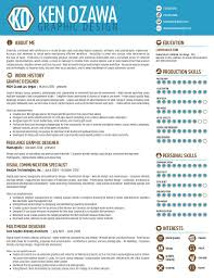 graphic design resume infographic resume by hee sun kim 25
