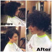 deva curl short hair curly pixie haircut transformation by whitneycoburn devacurl