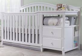 Black Crib With Changing Table Sorelle Berkley 4in1 Convertible Crib And Changer White Crib With