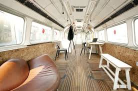 old subway cars transformed into london art studios inhabitat