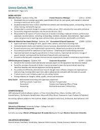 2016 resume linnea j garlock 7 3 16 human resources manager resume sles visualcv resume sles