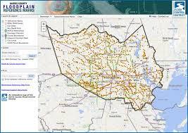 map houston harris county hcfcd harris county floodplain reference marks
