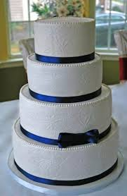 cake ribbon wedding cakes