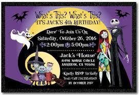 nightmare before birthday invitation di 346 harrison