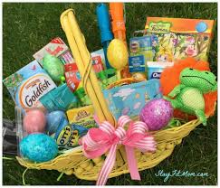 kids easter baskets non candy kids easter basket stay fit