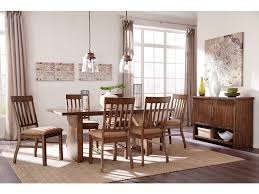 zilmer 7pc dining room set ashley zilmer 7pc dining room set d448 tbl 6 chairs