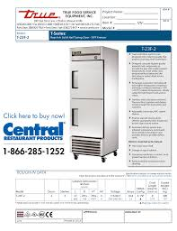 download free pdf for true t 23f freezer manual