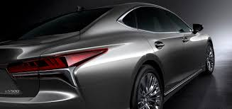 lexus sedan 2018 2018 lexus ls revealed in detroit with powerful new twin turbo v6