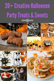 Halloween Appetizers Recipes Pictures by 20 Easy Diy Halloween Tricks And Treats Easy Pumpkin Krispies