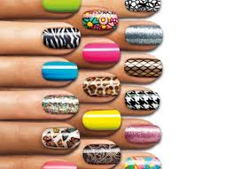 how to apply nail foil wraps