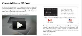 hotel gift cards 15 bonus on fairmont gift cards deals we like