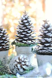 pine cone trees town country living