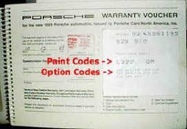 porsche 928 maintenance 928 option codes