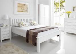 Bed Frame Simple Bedroom Furniture Headboards For Queen Wooden Bed Frames White