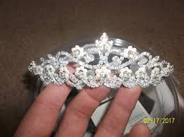 tiara collection david s bridal tiara collection rhinestone pearl 4595 0268