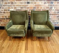 Green Velvet Armchair Vintage Lounge Chairs Collectika Vintage And Retro Furniture Shop