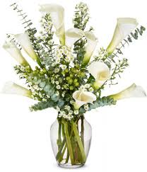 cala lillies sympathy calla lilies deluxe at from you flowers