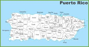Maps Of Atlanta by Puerto Rico Municipalities Map