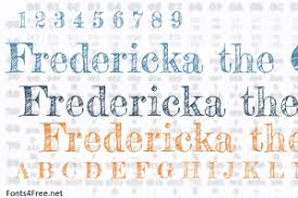 fredericka the great font download fonts4free