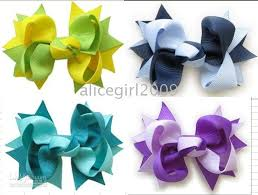 wholesale hairbows wholesale boutique hair bows with 2 tone 3 inthes bows