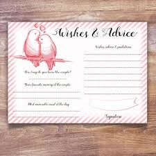 Wedding Wishes And Advice Cards Wishes Cards And Guest Books All Ways Design Invitations