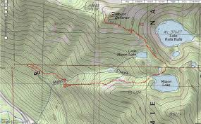 Mt Washington Trail Map by Off On Adventure Mount Defiance Alpine Lakes Wilderness 10 14 12