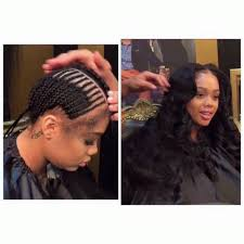 how to braid hair with middle part middle part sew in hair pinterest middle hair style and