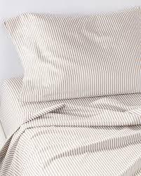 ticking stripe sheet set serena lily bedding ikea ticking stripe