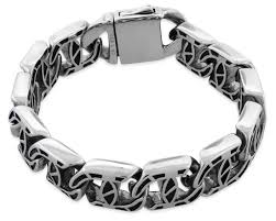chain link bracelet patterns images Stainless steel pattern link bracelet gif