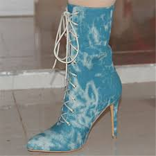 womens size 12 low heel boots get cheap boots size 12 blue aliexpress com