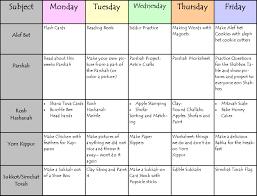 free printable homeschool daily schedule template printable