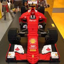ferrari f1 lego made up of 43 751 lego bricks weighing 446 kg ferrari f1